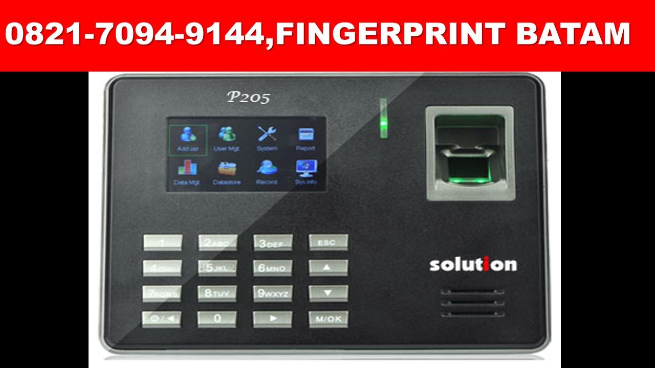 finger print batam